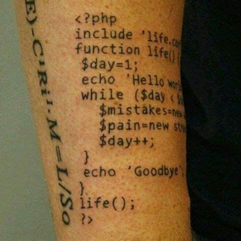 tattoo designer program php codes computer technology codes
