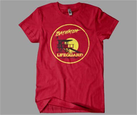Baywatch Tshirt baywatch t shirt tv show