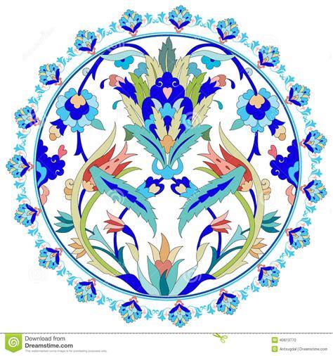 ottoman motifs ottoman motifs seamless pattern in mosaic ethnic style