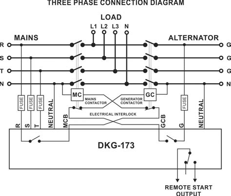 automatic transfer switch diagram 3 phase wiring diagram