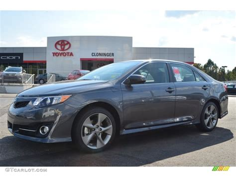 magnetic gray 2014 magnetic gray metallic toyota camry se v6 86401508 gtcarlot car color galleries