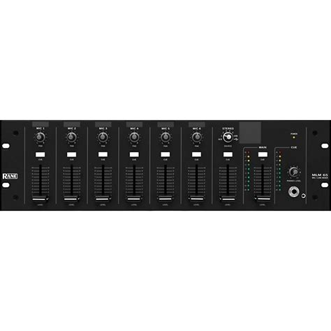 Rane Rack Mixer by Rane Mlm 65 Rack Mic Line Mixer Music123
