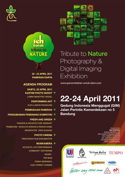 Kreatif Menggugat fresh green fashion photography seminar by nurulita