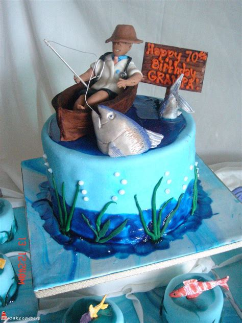 fishing cakes decoration ideas  birthday cakes