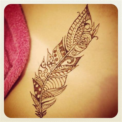 henna feather tattoo designs 17 best images about henna on tribal wrist