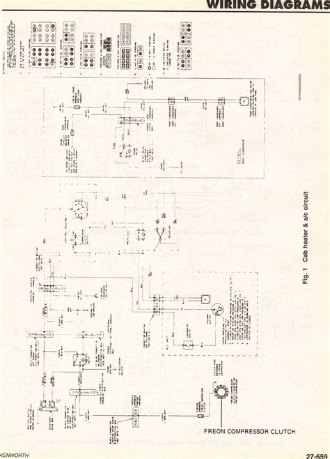 kenworth truck light wiring schematics get free image