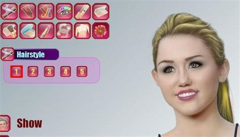 real haircuts games miley cyrus the game miley cyrus makeover