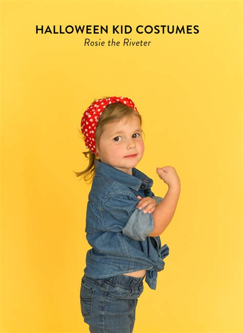 rosie  riveter kid costume