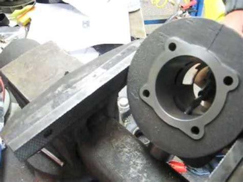 Karet Cvt how to chamfer the ports on a 2 stroke vespa cylinder