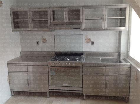 cocinas integrales de acero inoixdable lo nuevo del