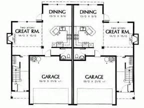 Two Story Duplex Plans Duplex 2 Story Plans Studio Design Gallery Best Design