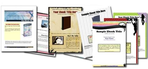 Pdf Ebook Templates Modelos Prontos Para Livros Digitais Em Pdf Pdf Ebook Templates