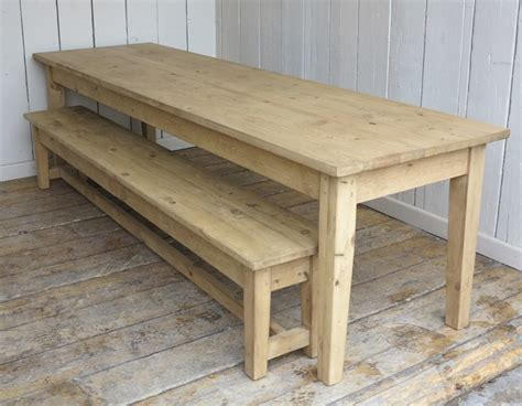 wooden kitchen table and bench wooden waxed plank top kitchen farmhouse table and bench