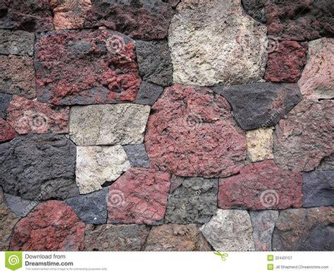 Garden Lava Rock Garden Scoria Lava Rock Wall Royalty Free Stock Photography Image 22443157