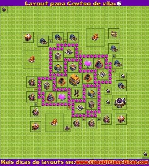 video de layout cv 6 melhores layouts para clash of clans centro de vila n 237 vel