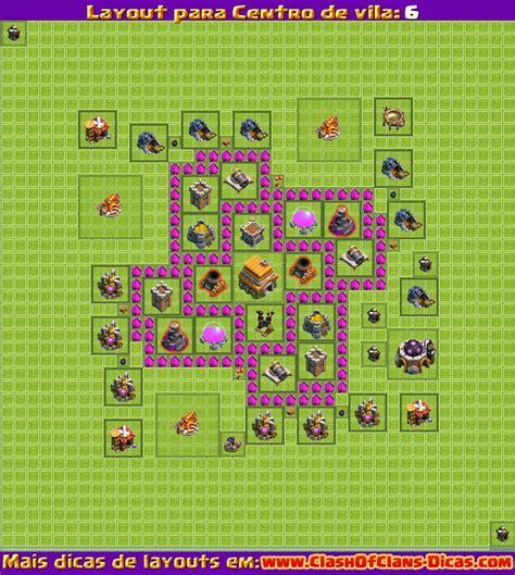 layout coc melhores layouts para clash of clans centro de vila n 237 vel