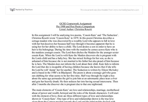 Cousin Kate Essay by Cousin Kate Analysis Essay Copywritersdictionary X Fc2
