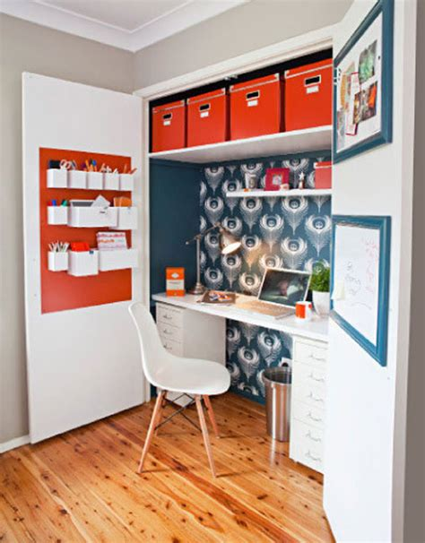 Wardrobe Office by The Best Ideas Of How To Turn A Closet Into An Office