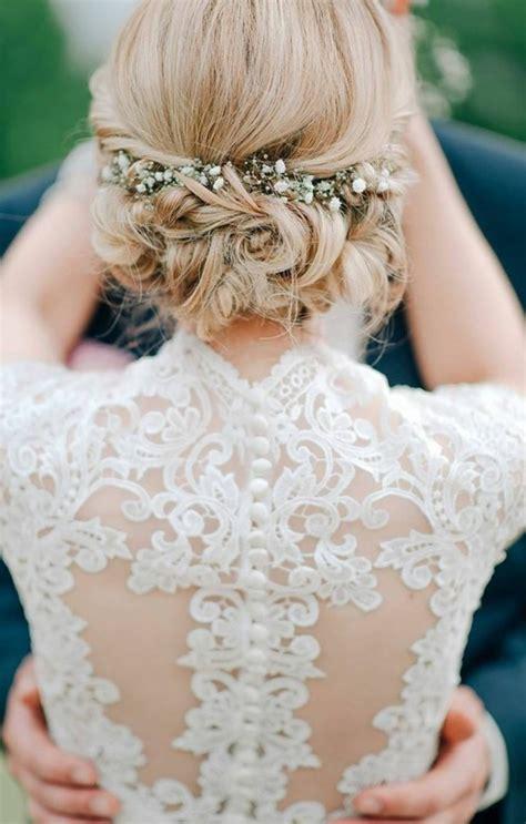 Frisur Hochzeit Blumen by Hochzeitsfrisuren Mit Blumen Top Frisuren 2018