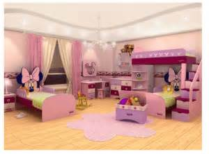 Minnie mouse decoration ideas for girls bedroom