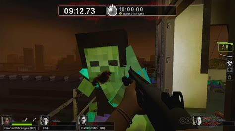 mod game left 4 dead 2 leon kennedy vs minecraft zombies left 4 dead 2 mods