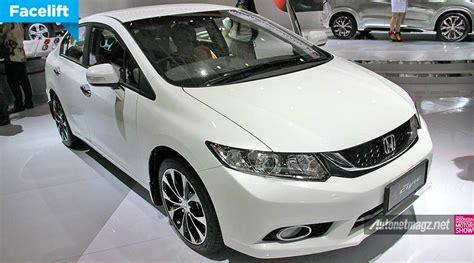 Lu Led Mobil Civic honda civic facelift 2014 diluncurkan di iims 2014