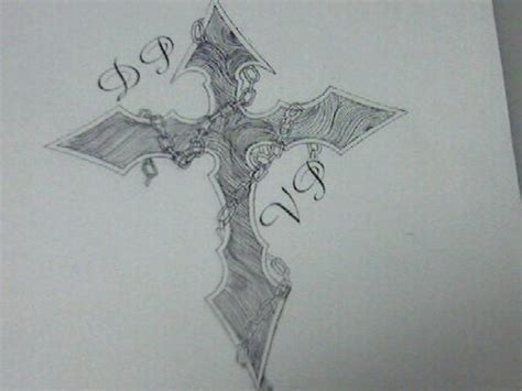 wood grain cross tattoos tribal cross with wood grain by naytamaru on deviantart