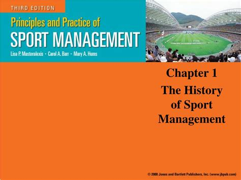 chapters in the history of the in the isles classic reprint books ppt chapter 1 the history of sport management powerpoint