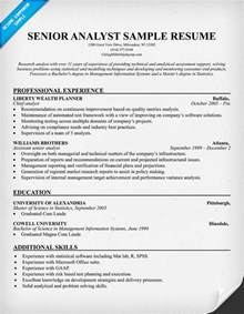 Analyst Resume Examples Financial Analyst Resume Ilivearticles Info