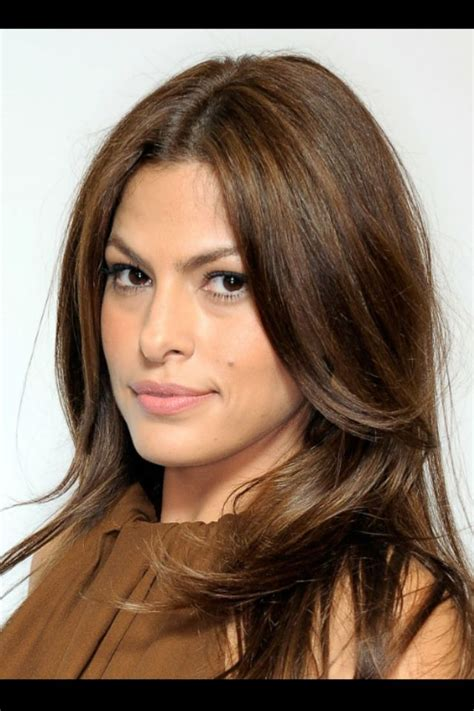 eva mendes hair color hair  love pinterest eva