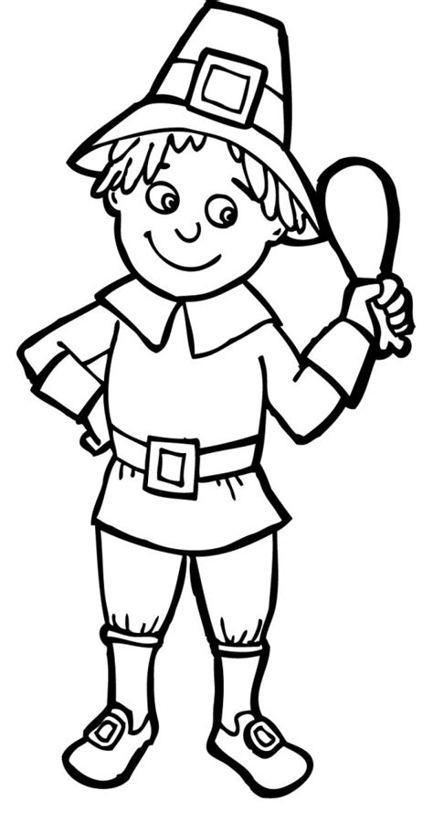 coloring page pilgrim girl educational pilgrim thanksgiving meat as it gets coloring