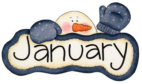 january clipart monthly clipart clipart suggest