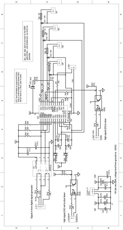 igbt transistor circuit diagram igbt driver circuit schematics