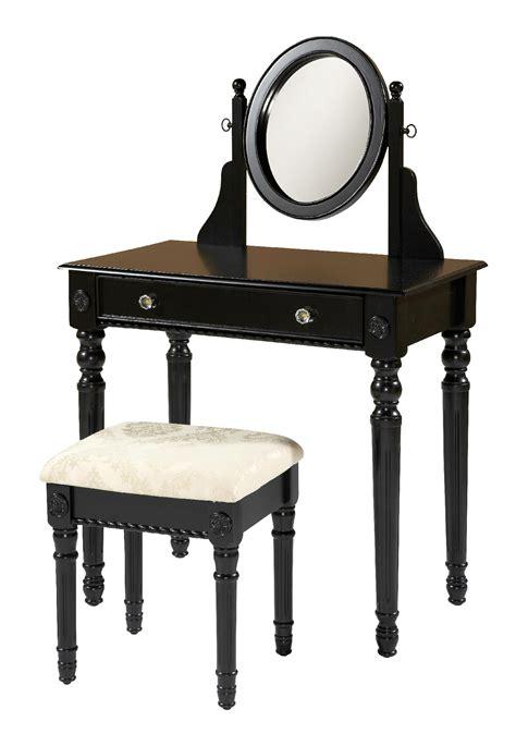 Vanity Store Locations by Linon Lorraine Vanity Set Black