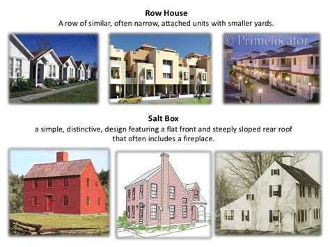house type types of house