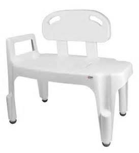 carex bath transfer bench b158 02 1 ea