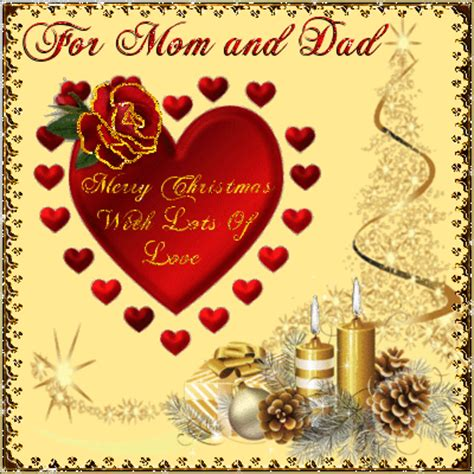 merry christmas mom  dad  family ecards greeting cards