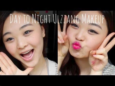 tutorial makeup ulzzang korean youtube day to night makeup look korean ulzzang monolid tutorial