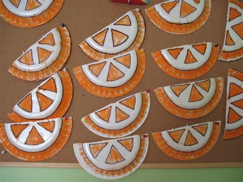 Orange Craft Paper - crafts actvities and worksheets for preschool toddler and