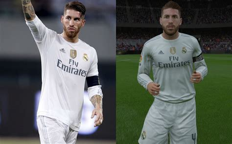 top 20 fifa 16 players and what they look like in the game