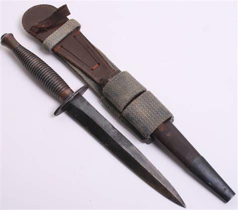 knife scabbard pattern ww2 3rd pattern fairbairn sykes fs commando knife complete