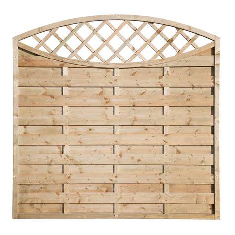 Wooden Garden Trellis Panels Elite Eyecatcher Wooden Fence Panel Garden Fencing
