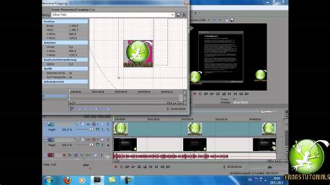 sony vegas pro tutorial german sony vegas logo einf 252 gen transparent machen german