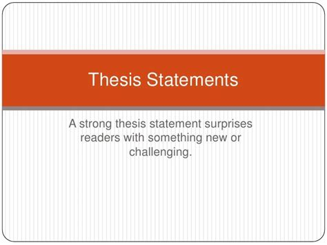 thesis statement about special education thesis of education