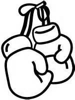 boxing gloves sticker car stickers