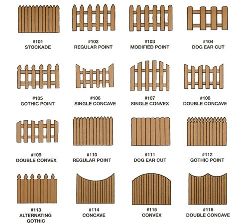 types of backyard fences wooden fences sentimental as anything