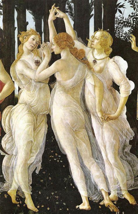 botticelli venus schiaparelli pink the three graces