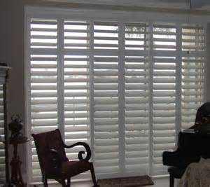 Shutters For Sliding Glass Patio Doors Plantation Shutters For Sliding Glass Door Traditional Houston By Rockwood Shutters