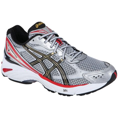 wide running shoes asics gel foundation 8 2e mens wide running shoe lightning