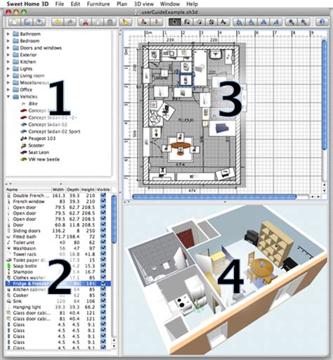sweet 3d home design software download sweet home 3d user s guide